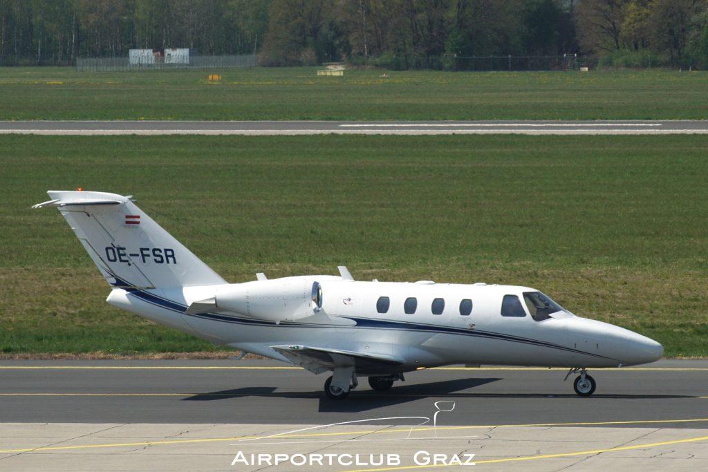 Austro Control Cessna 525 CitationJet 1 Plus OE-FSR