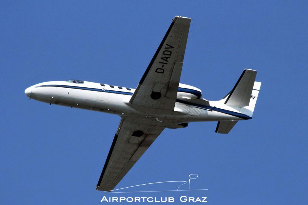 Advance Air Luftfahrt Cessna 551 Citation II(SP) D-IADV