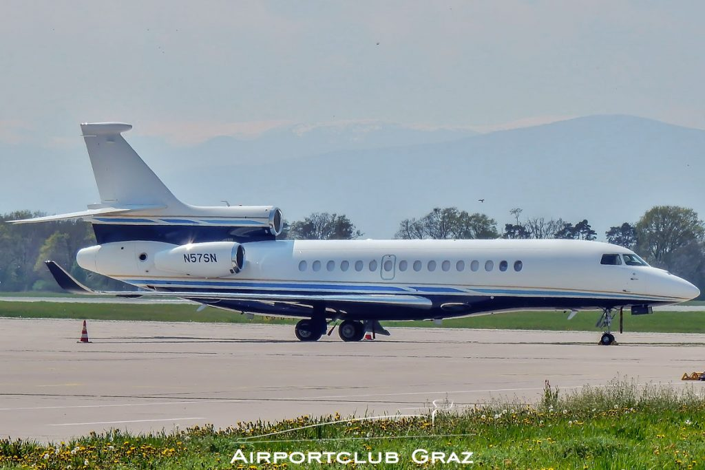 Bank of Utah Trustee Dassault Falcon 8X N57SN
