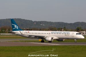 Montenegro Airlines Embraer 195 4O-AOA
