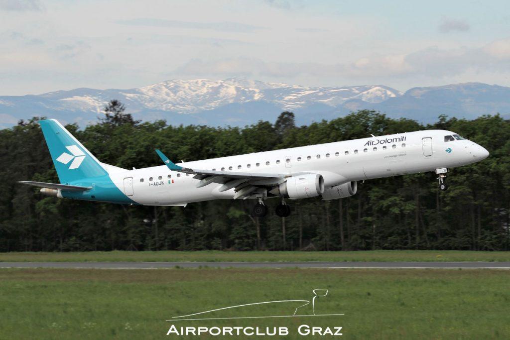 Air Dolomiti Embraer 195 I-ADJK