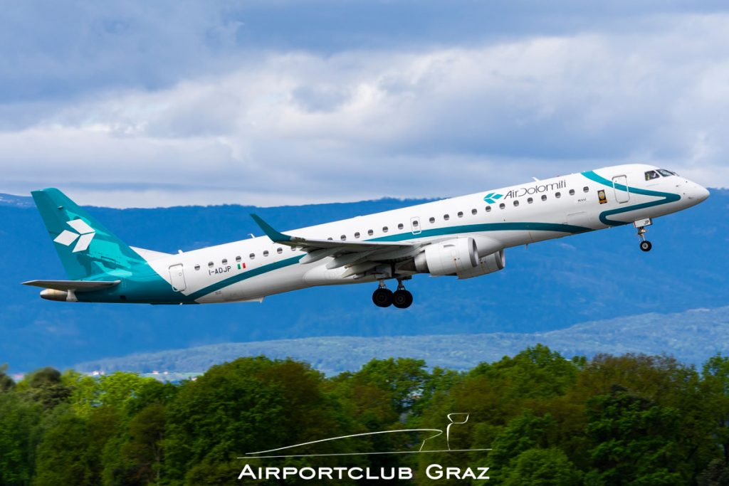 Air Dolomiti Embraer 195 I-ADJP