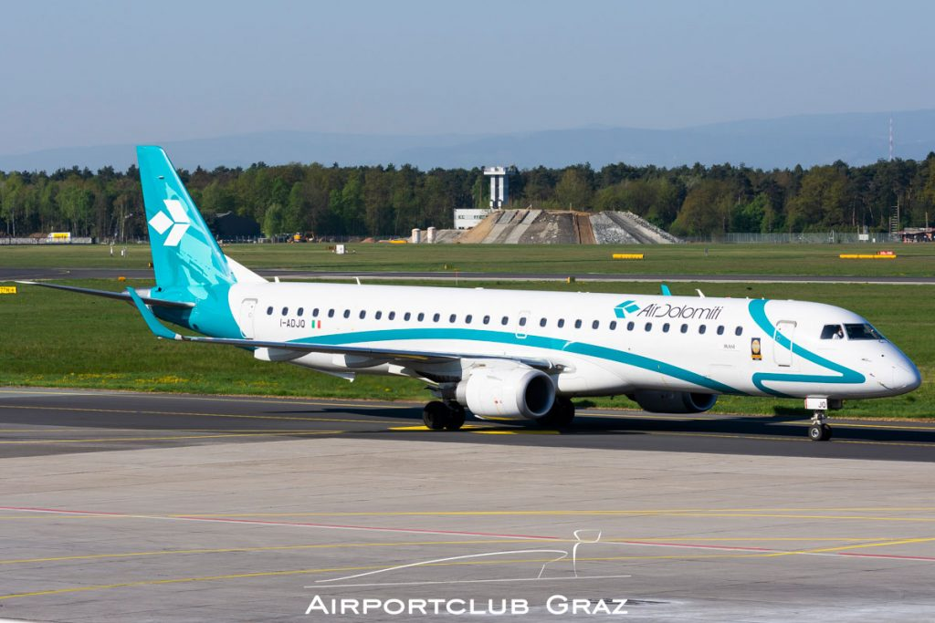 Air Dolomiti Embraer 195 I-ADJQ
