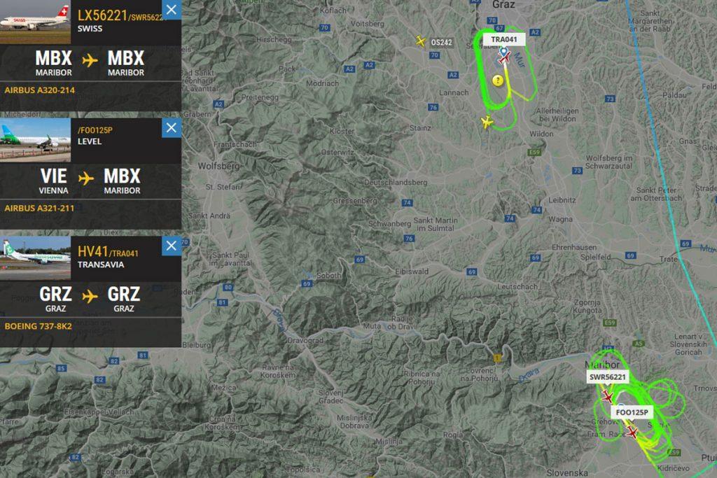 Screenshot © flightradar24.com