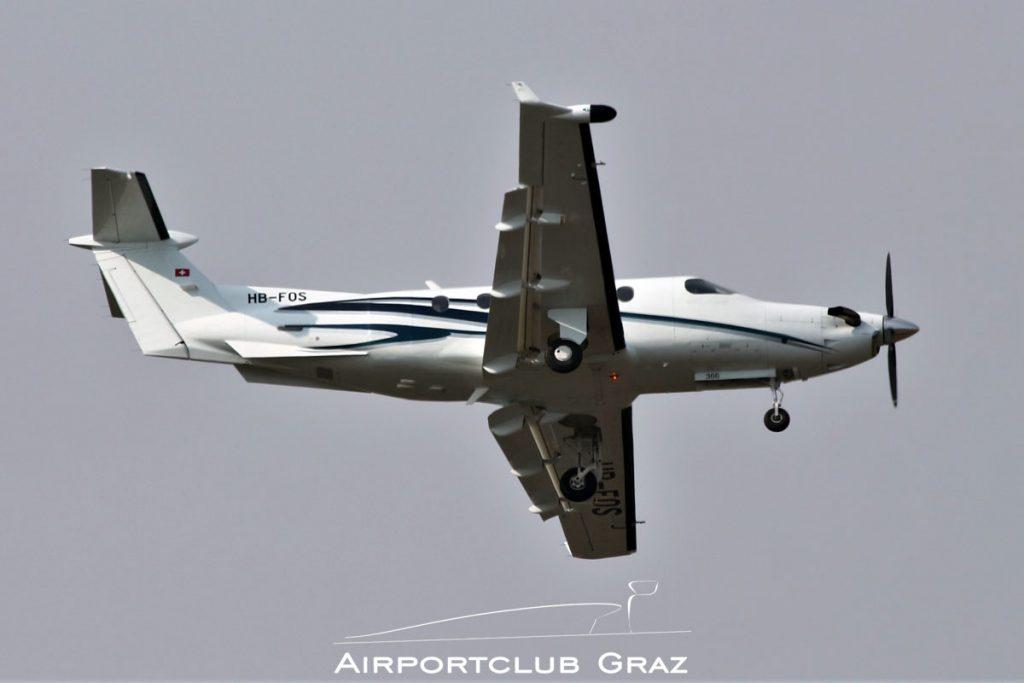 Lions Air Pilatus PC-12/45 HB-FOS
