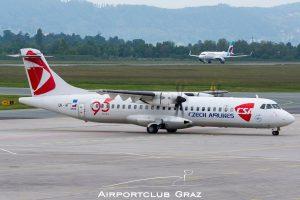 CSA Czech Airlines ATR 72-212A OK-MFT