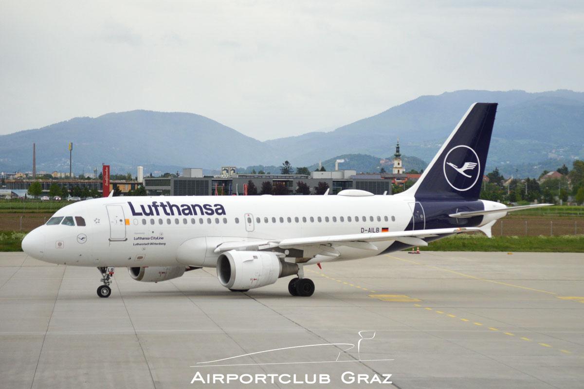 Lufthansa Cityline Airbus A319-114 D-AILB