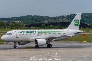 Germania Flug Airbus A319-112 HB-JOG