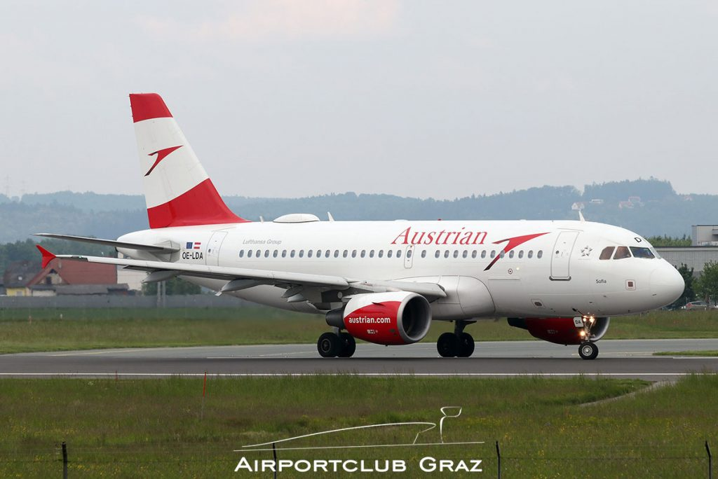 Austrian Airlines Airbus A319-112 OE-LDA