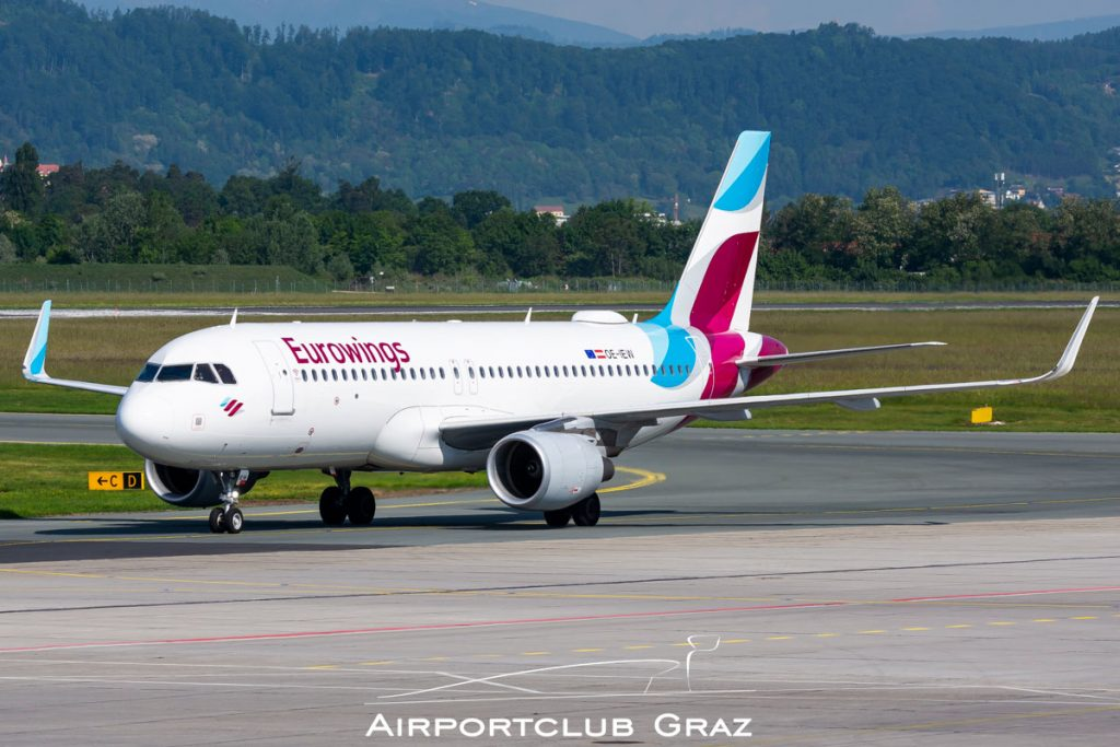 Eurowings Airbus A320-214 OE-IEW