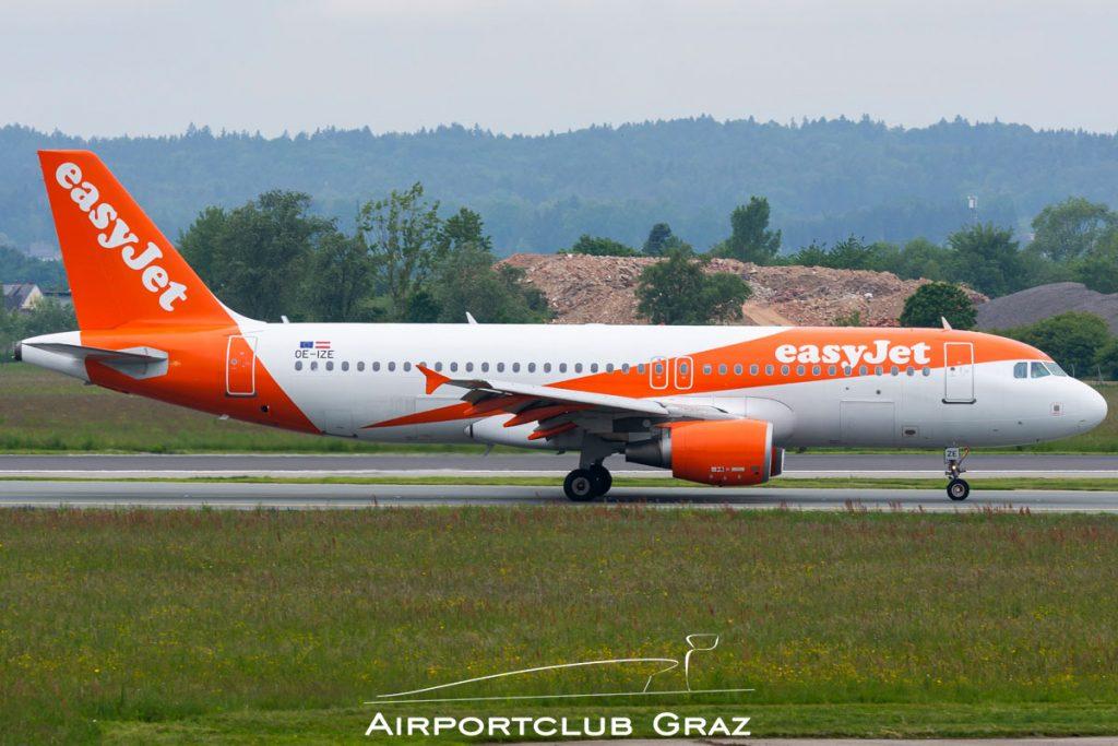 easyJet Airbus A320-214 OE-IZE