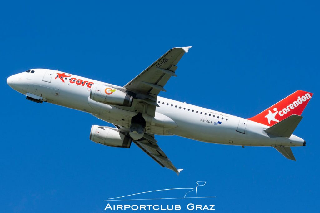 Orange2fly Airbus A320-232 SX-ODS