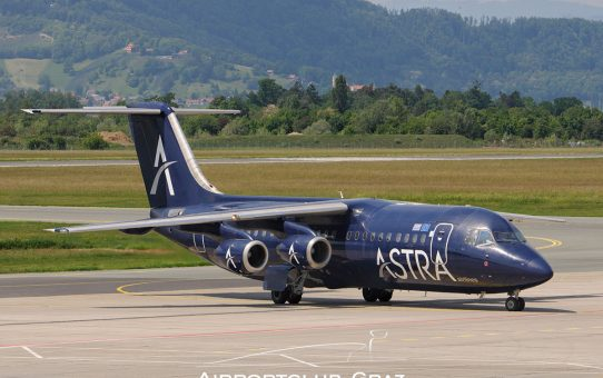 Astra Airlines hat den Flugbetrieb eingestellt