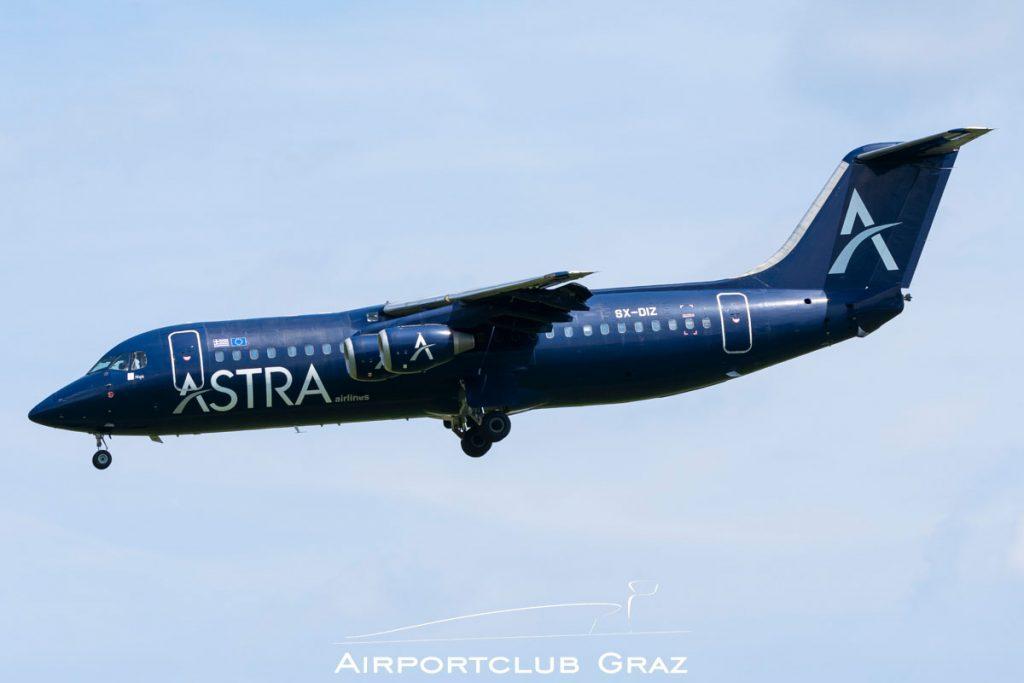 Astra Airlines BAe 146-300 SX-DIZ