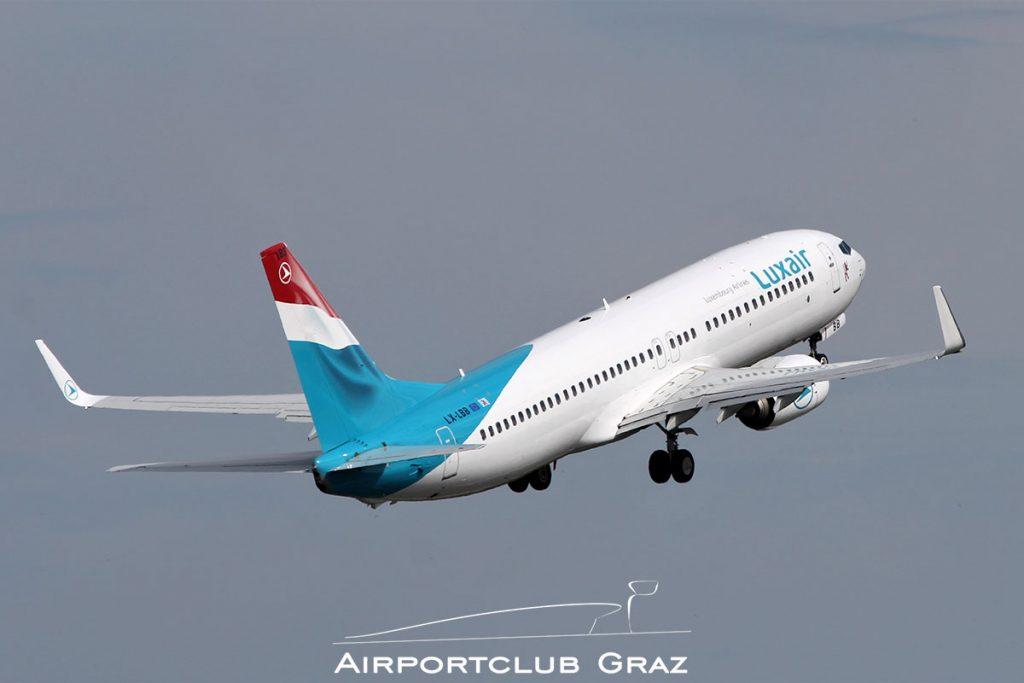 Luxair Boeing 737-86J LX-LBB