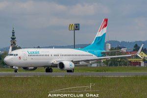 Luxair Boeing 737-8C9 LX-LGU