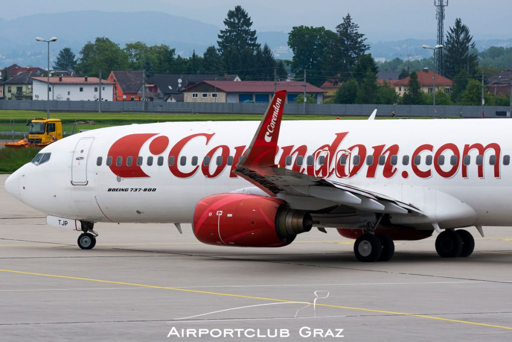 Corendon Airlines Boeing 737-8BK TC-TJP