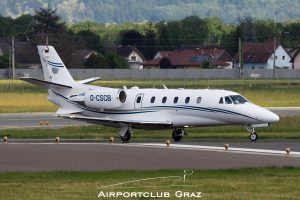 Silver Cloud Air Cessna 560XL Citation Excel D-CSCB
