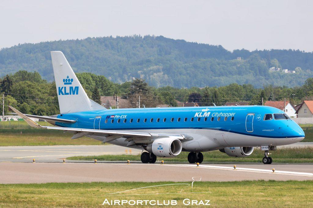 KLM Cityhopper Embraer 175 PH-EXK