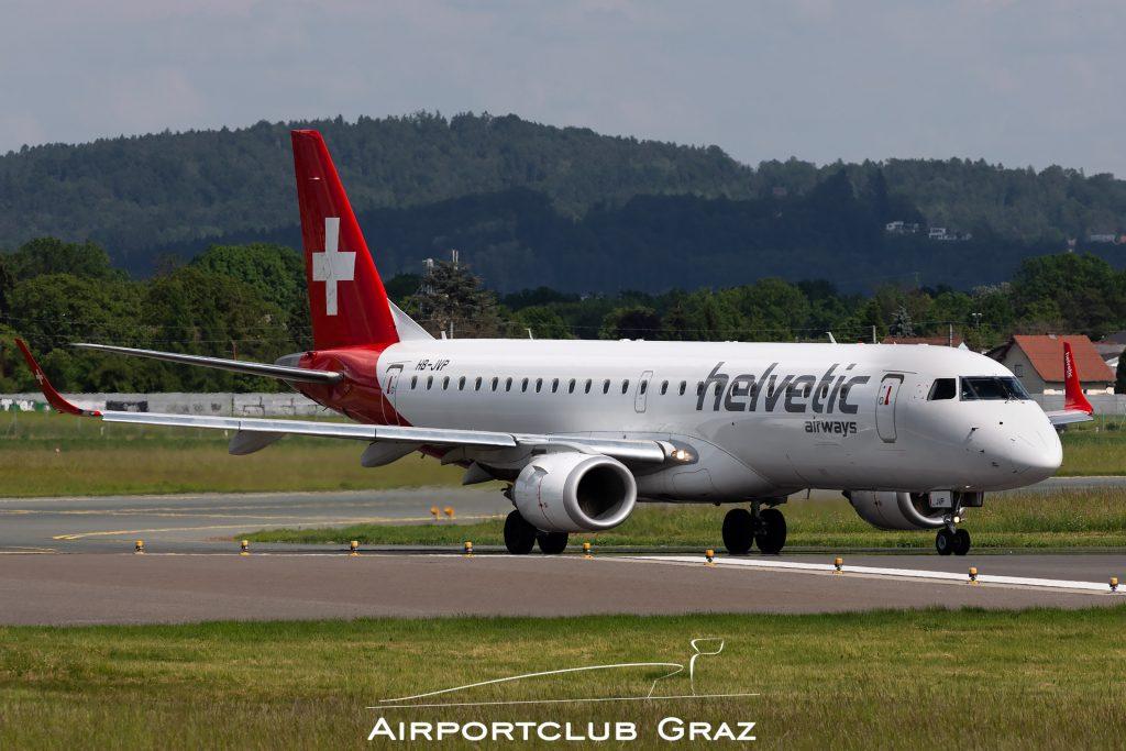 Helvetic Airways Embraer 190 HB-JVP
