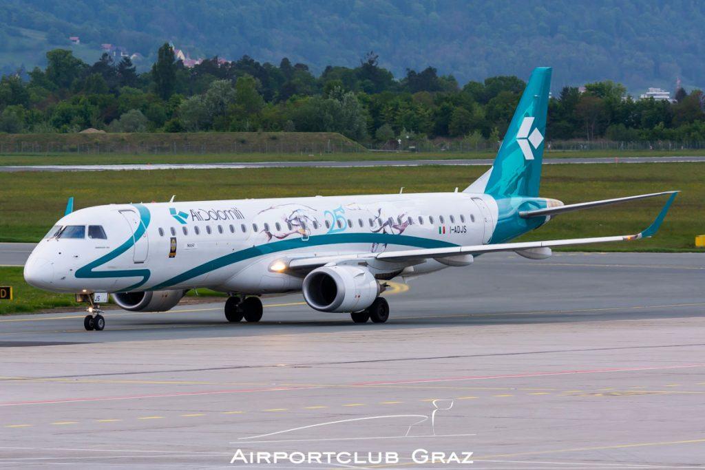 Air Dolomiti Embraer 195 I-ADJS