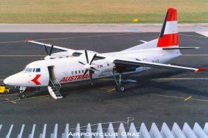Austrian Airlines Fokker 50 OE-LFE