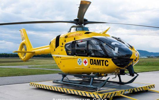 ÖAMTC und Polizei mit neuem H135 P3/T3