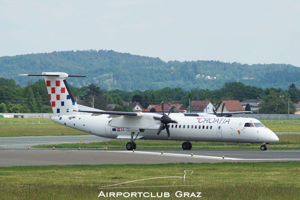 Croatia Airlines Q400 9A-CQE