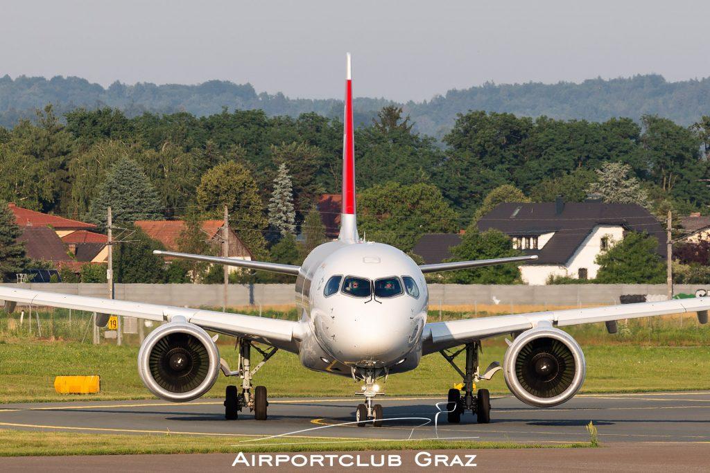 Swiss Airbus A220-300 HB-JCO