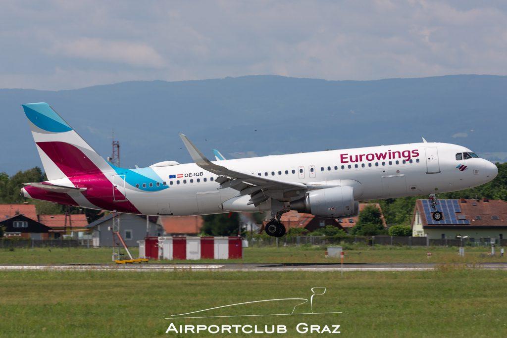 Eurowings Airbus A320-214 OE-IQB