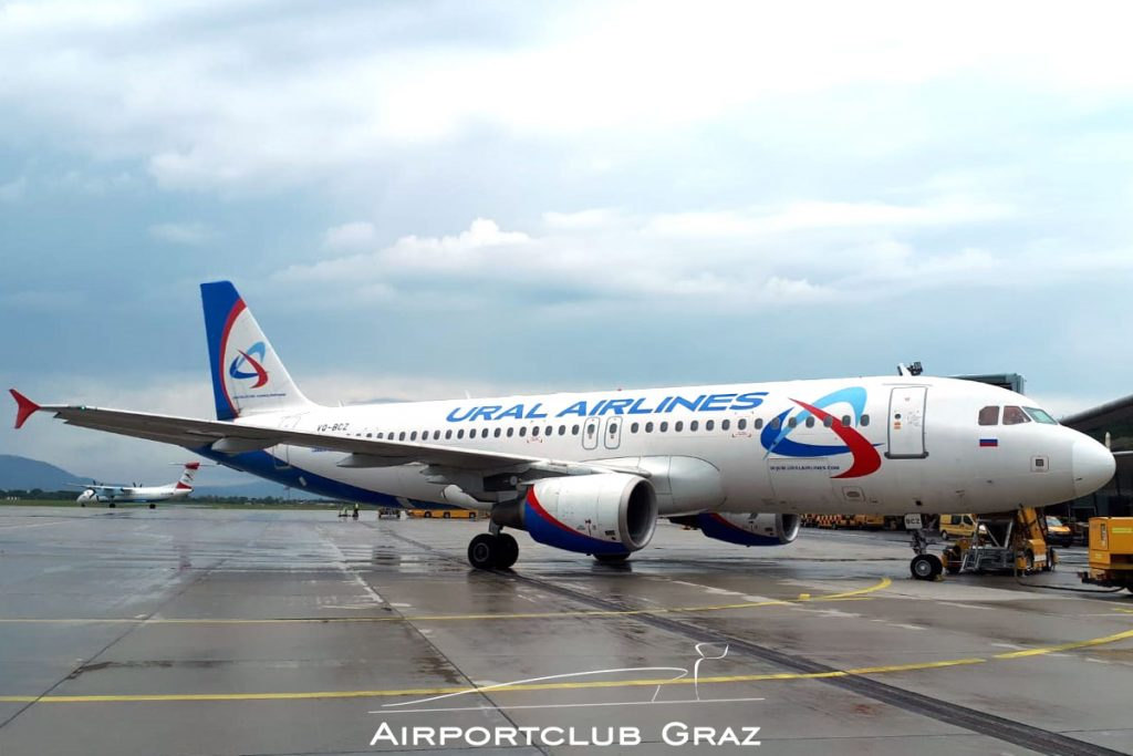 Ural Airlines Airbus A320-214 VQ-BCZ