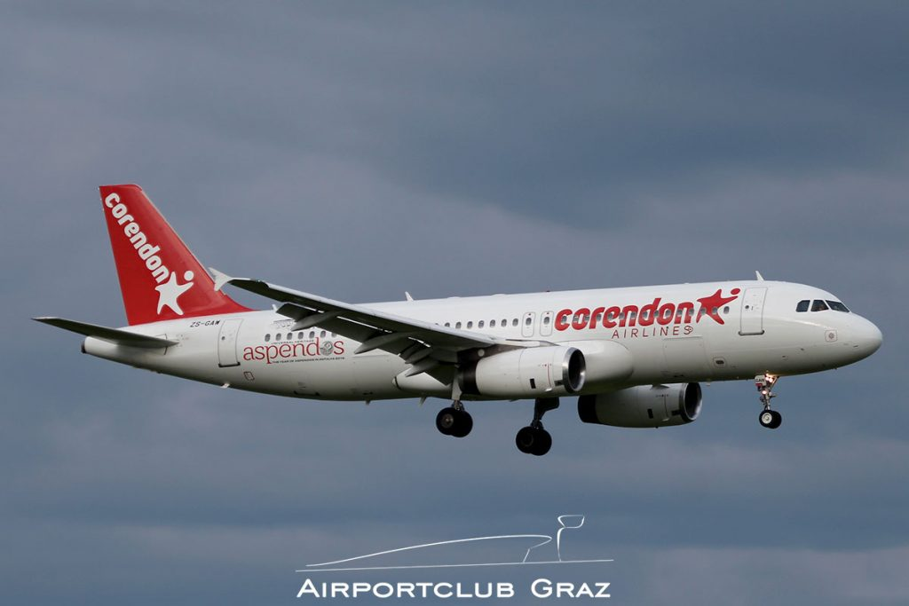Global Aviation Airbus A320-231 ZS-GAW