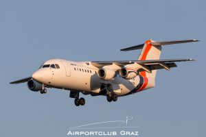 Jota Aviation BAe Avro RJ85 G-JOTR