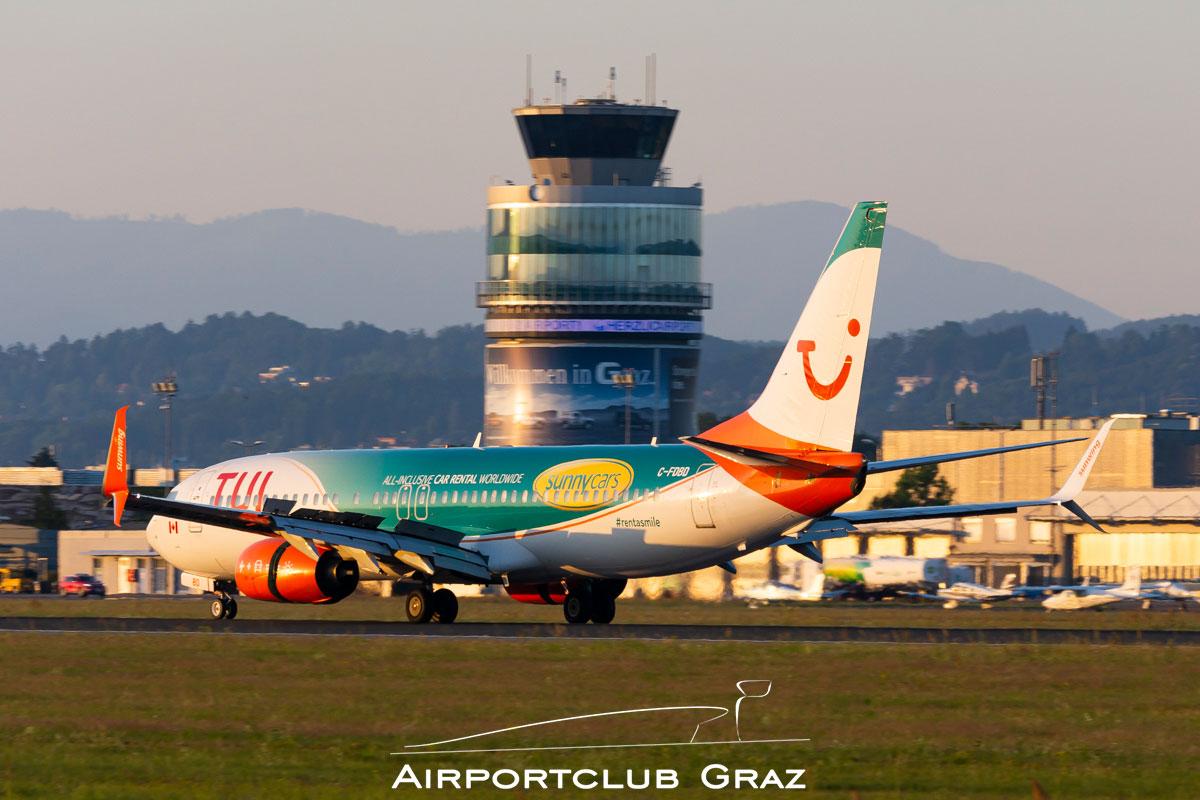 Sunwing Airlines Boeing 737 Airportclub Graz