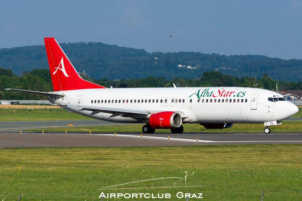 Alba Star Boeing 737-4Y0 EC-MFS