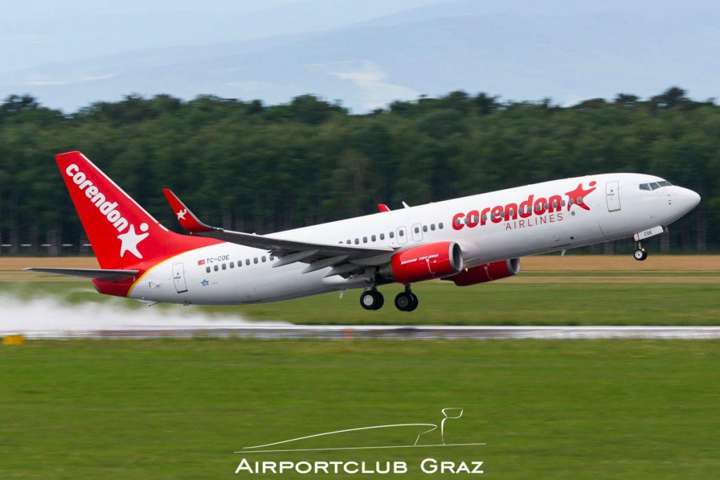 Corendon Airlines Boeing 737-86J TC-COE