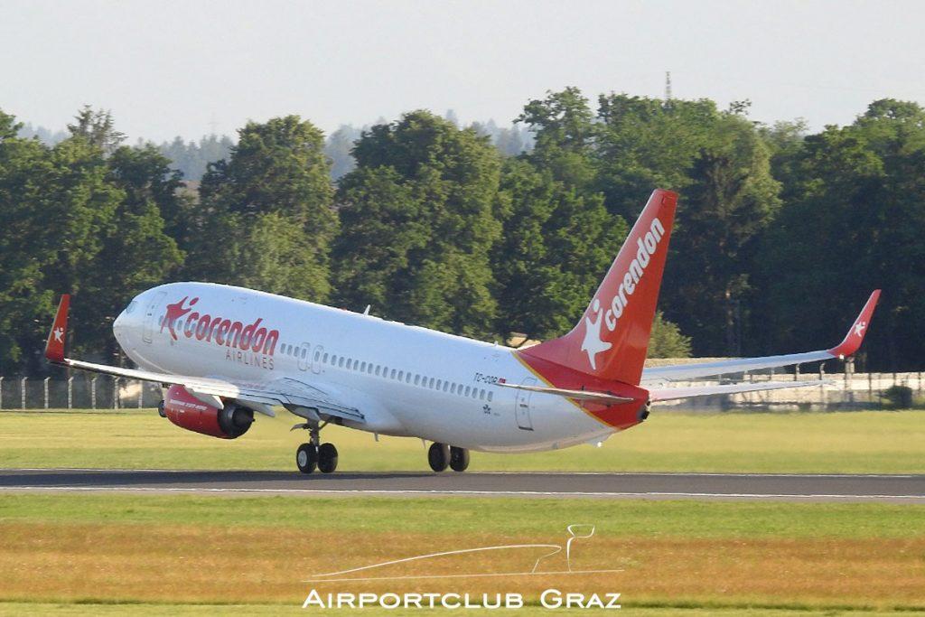 Corendon Airlines Boeing 737-8SH TC-COR