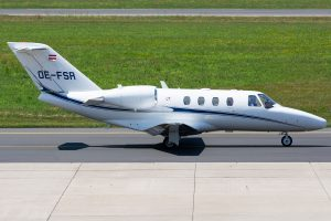 Austro Control Cessna 525 CitationJet 1 Plus OE-FSR