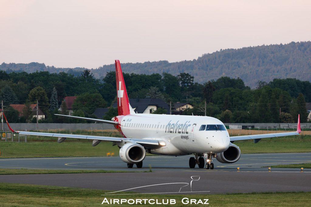 Helvetic Airways Embraer 190 HB-JVN