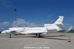 VW Air Services Dassault Falcon 8X D-AGBB