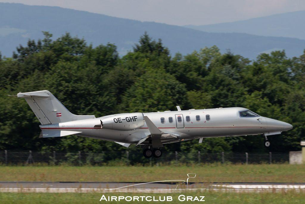 Lycoair Learjet 40XR OE-GHF