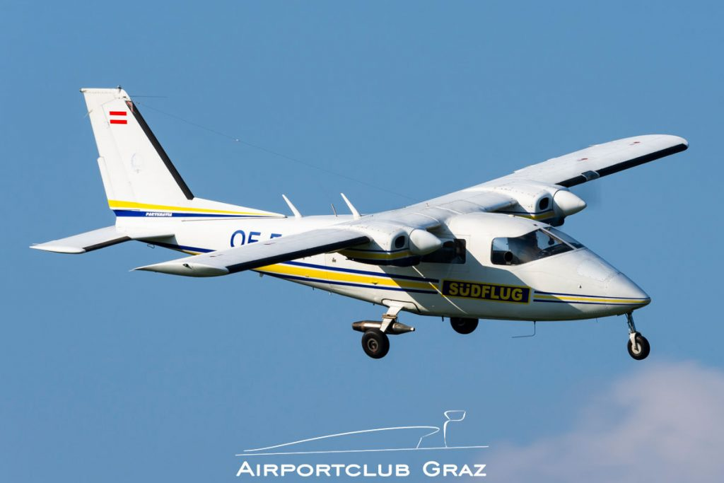 Südflug Partenavia P68B Victor OE-FGW