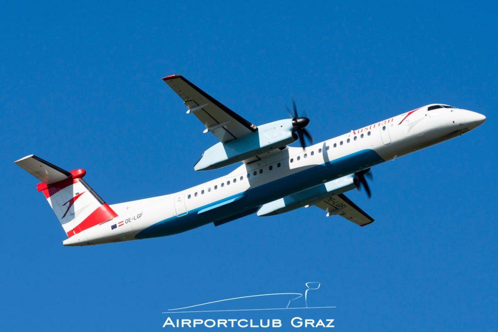 Austrian Airlines Q400 OE-LGF