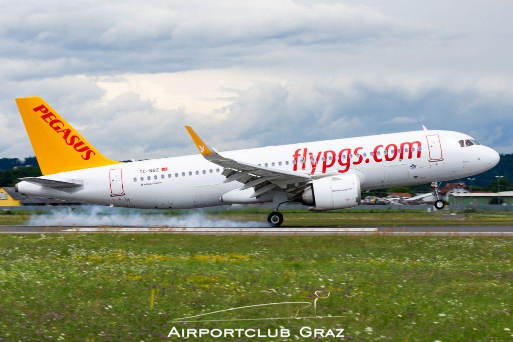 Pegasus Airlines Airbus A320-251N TC-NBZ
