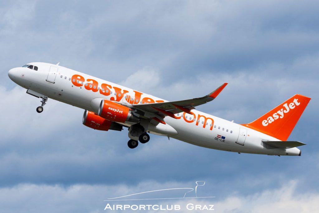 easyJet Airbus A320-214 OE-IJK