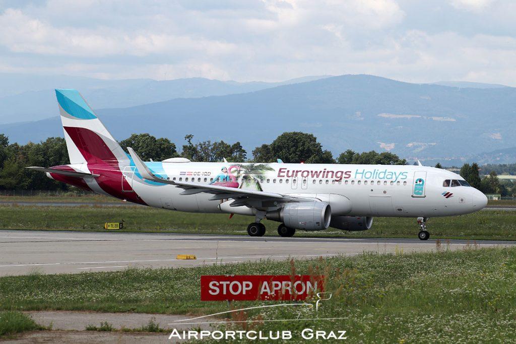 Eurowings Airbus A320-214 OE-IQD