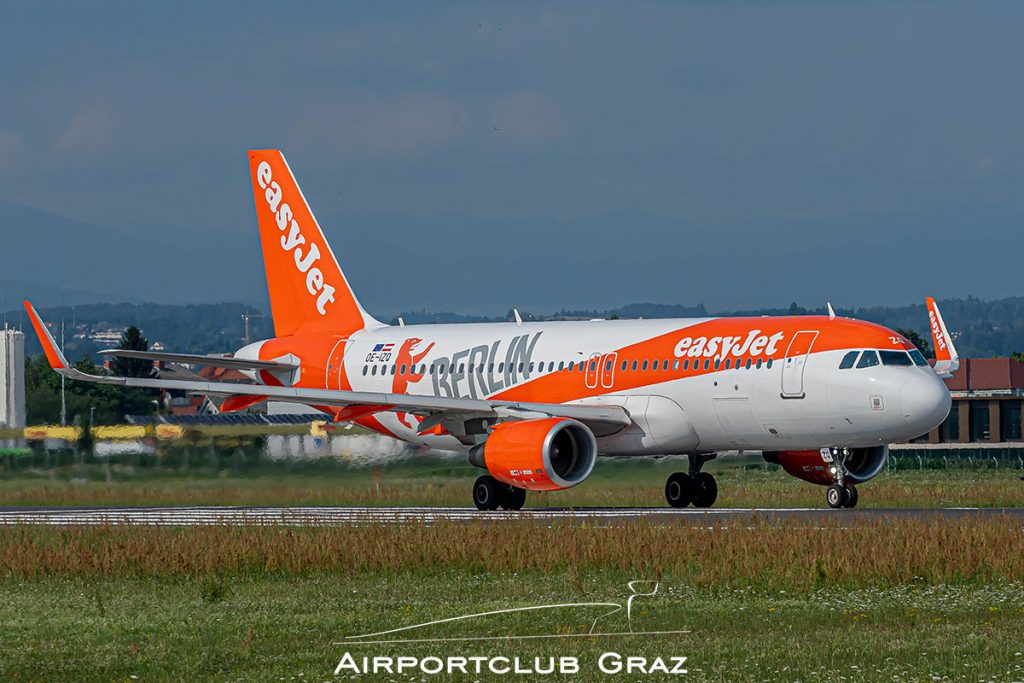 easyJet Airbus A320-214 OE-IZQ