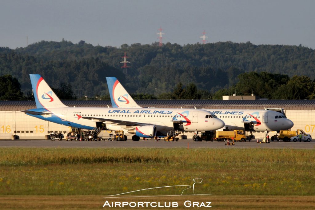 Ural Airlines Airbus A320-214 VP-BQW