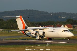 Jota Aviation BAe Avro RJ85 G-JOTS