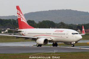 Georgian Airways Boeing 737-7BK 4L-TGN